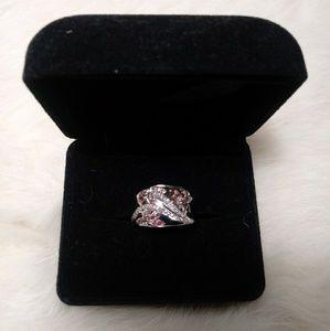 Jewelry - diamond ring (100% natural pink diamonds)